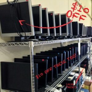 monitor sale at free i.t. athens