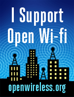 I support open wifi badge from the Electronic Frontier Foundation